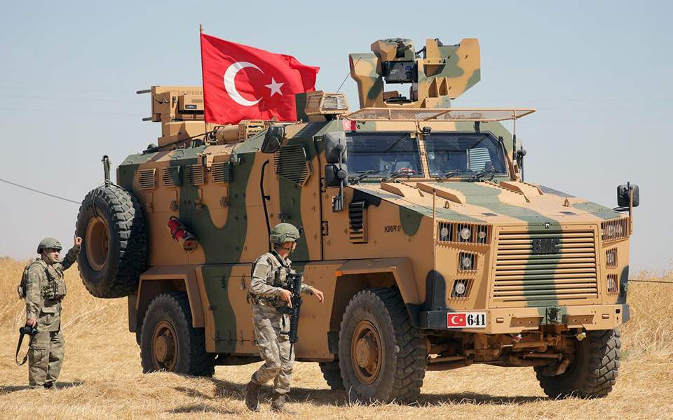Image result for τουρκια επιχειρηση συρια καθημερινη