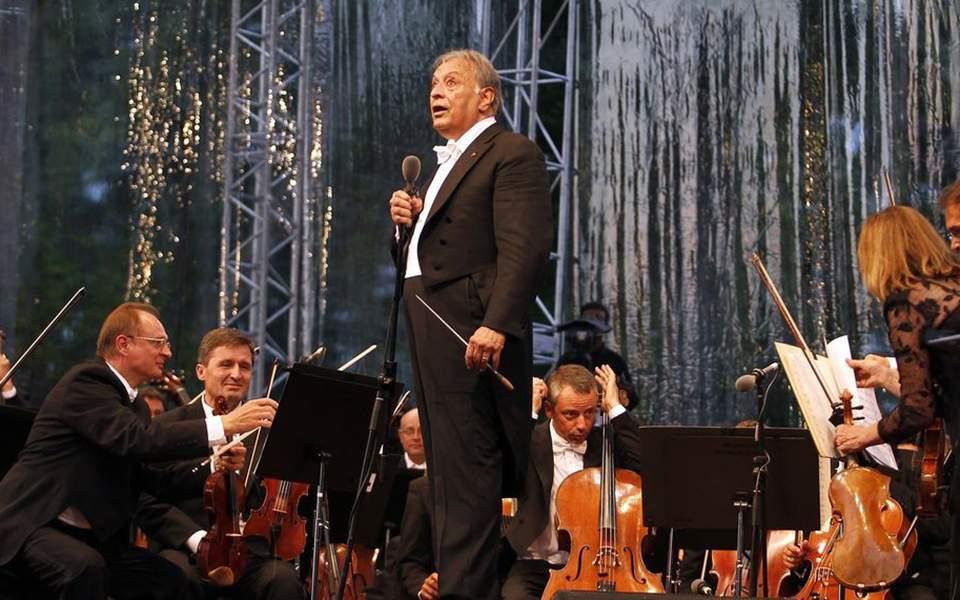 Την τελευταία του συναυλία έδωσε ο φημισμένος μαέστρος Ζούμπιν Μέτα