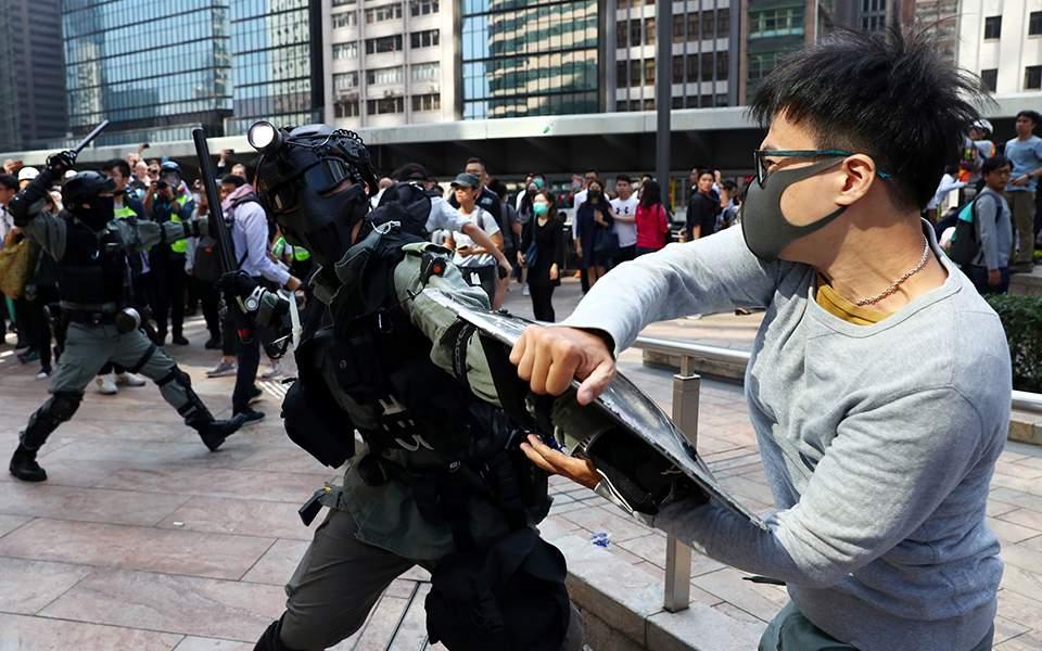 a-protester