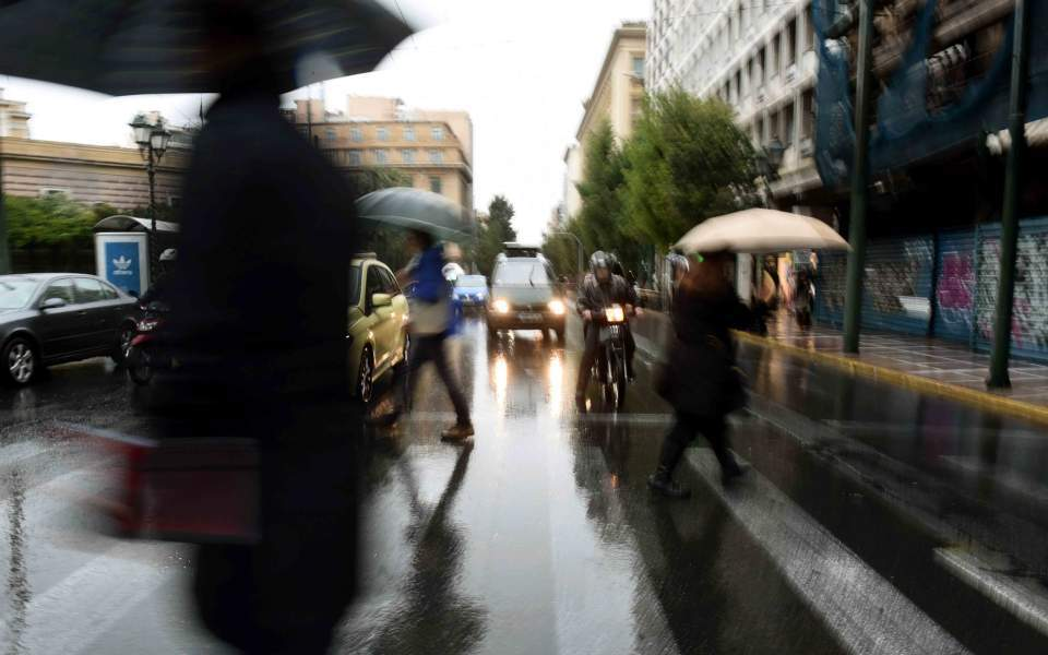 Επιδείνωση του καιρού με ισχυρές βροχές και καταιγίδες από το βράδυ
