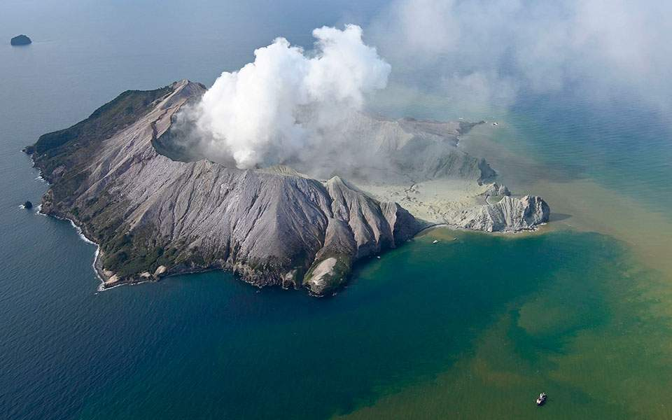 Αποτέλεσμα εικόνας για ηφαιστειο νεα ζηλανδια