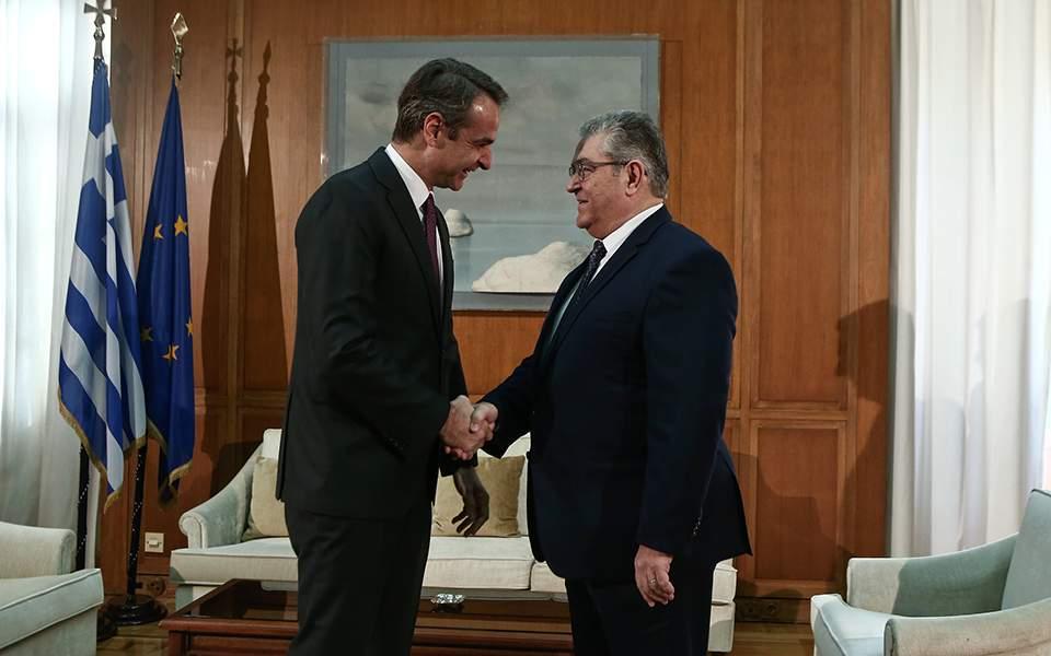 Δ. Κουτσούμπας μετά τη συνάντηση με τον πρωθυπουργό: Βρισκόμαστε στη δίνη σοβαρών εξελίξεων στην περιοχή μας