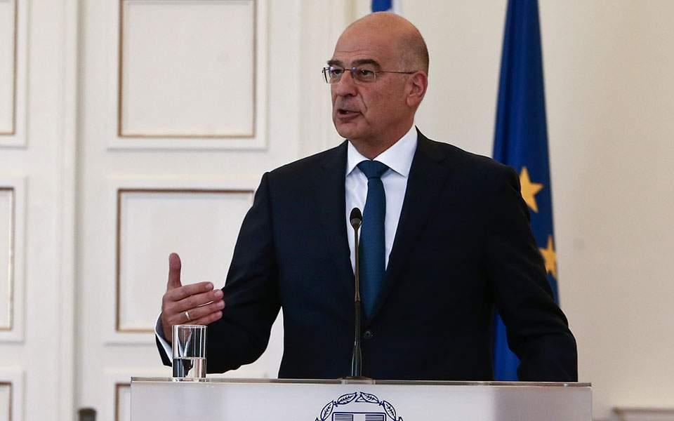 Ν. Δένδιας: Δεν κάνουμε μέτωπο εναντίον της Τουρκίας, αλλά μέτωπο λογικής