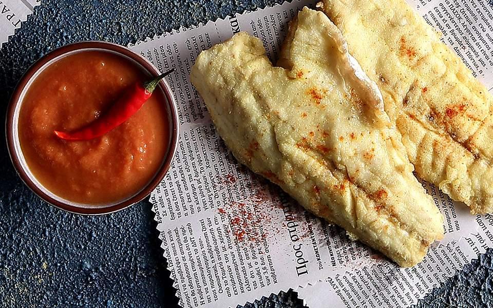 Πικάντικη σάλτσα με ντοματίνια και τσίλι