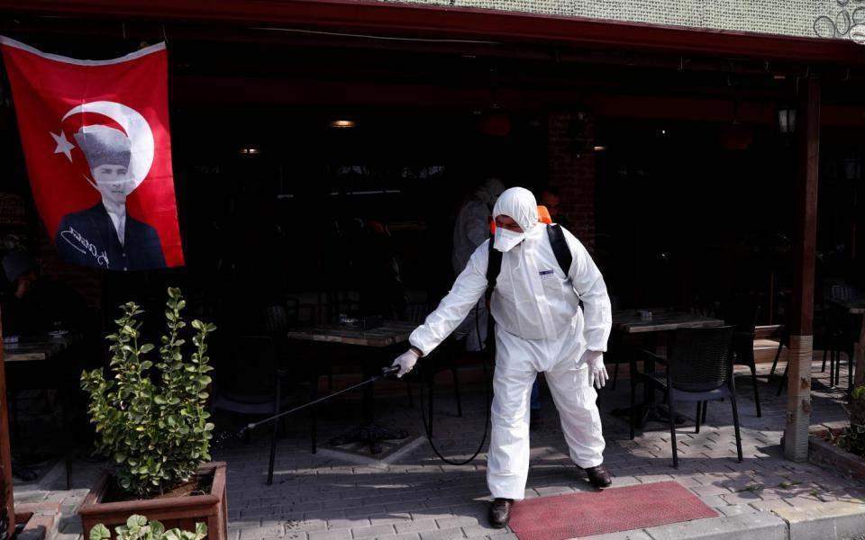 Δεύτερο κρούσμα του κορωνοϊού στην Τουρκία   Κόσμος   Η ΚΑΘΗΜΕΡΙΝΗ