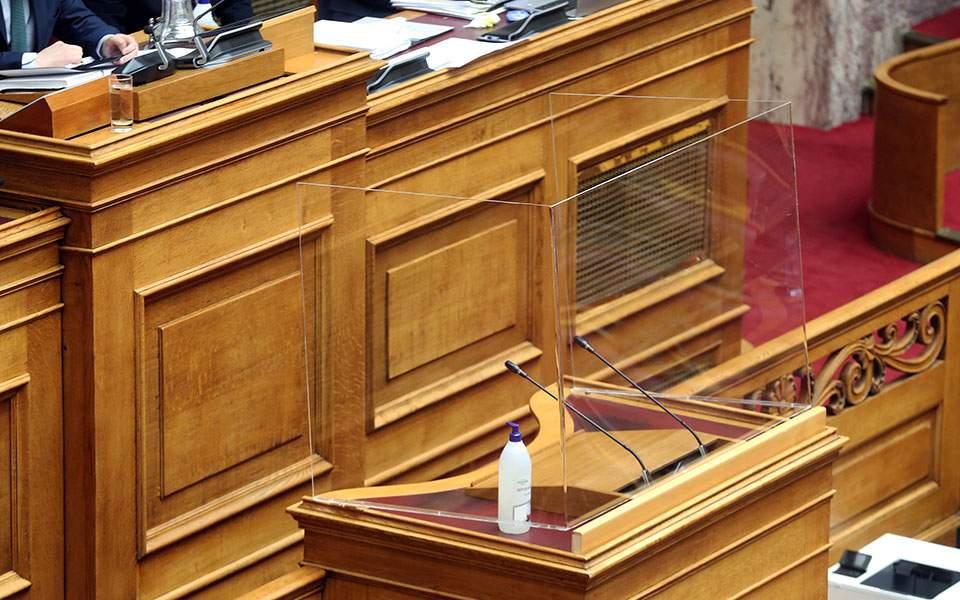 Βουλή: Προβληματισμός και κριτική για τη «σκιά» του ιού στην οικονομία