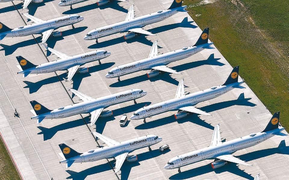 Η Lufthansa εκπέμπει SOS, αλλά το πακέτο διάσωσης καθυστερεί