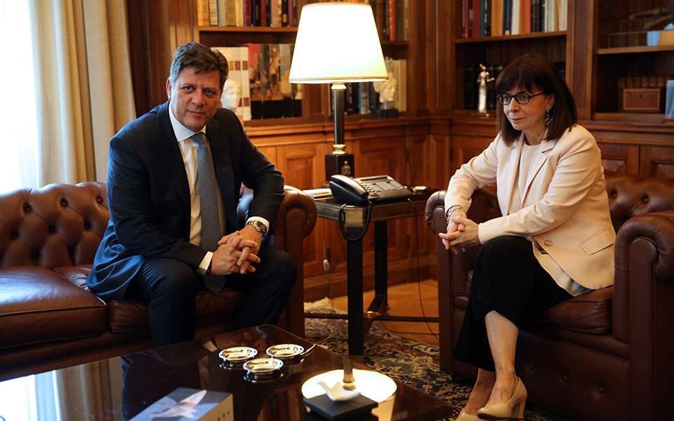 Κατ. Σακελλαροπούλου Βεβαιότητα για την επιτυχία των στόχων της ελληνικής Προεδρίας στο Συμβούλιο της Ευρώπης