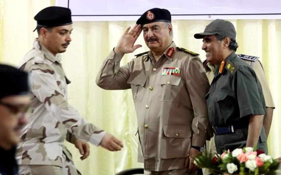 Μήνυμα Μόσχας προς Χαφτάρ για κατάπαυση πυρός και πολιτική λύση στη Λιβύη