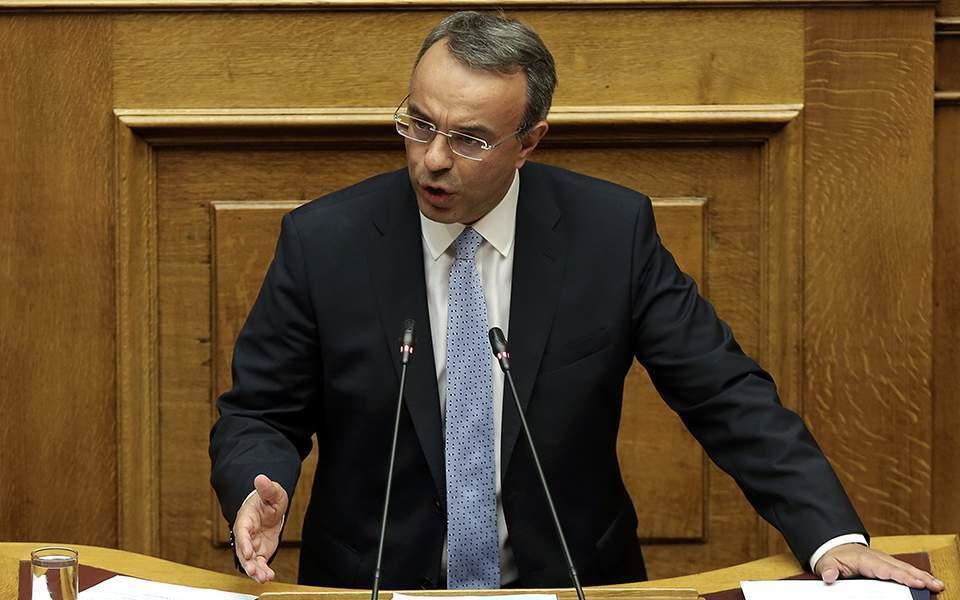 Βουλή: Σκληρό «μπρα ντε φερ» υπουργού Οικονομικών - ΣΥΡΙΖΑ 1