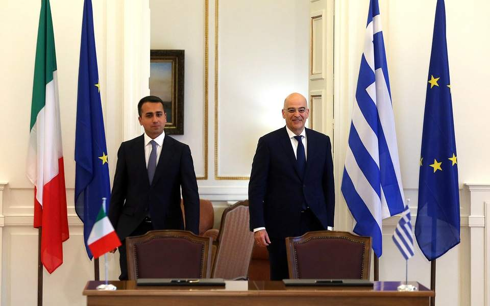 Ν. Δένδιας για συμφωνία Ελλάδος - Ιταλίας: Τα κυριαρχικά μας δικαιώματα στην περιοχή αναγνωρίζονται εμπράκτως