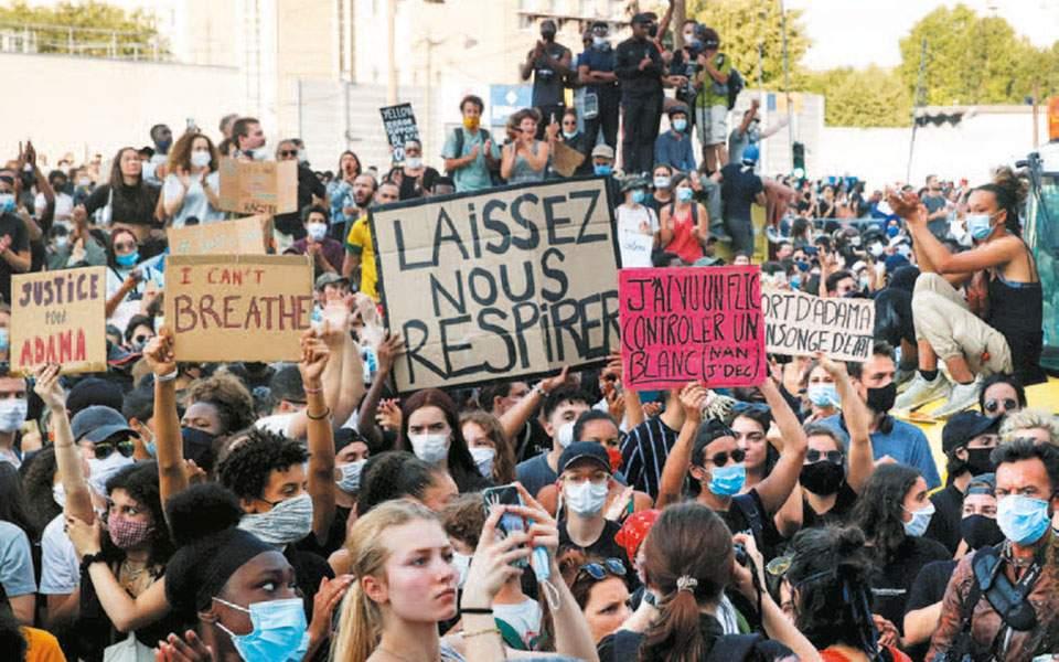 Αντιδράσεις και διαδηλώσεις αλληλεγγύης τον φόνο του Τζορτζ Φλόιντ