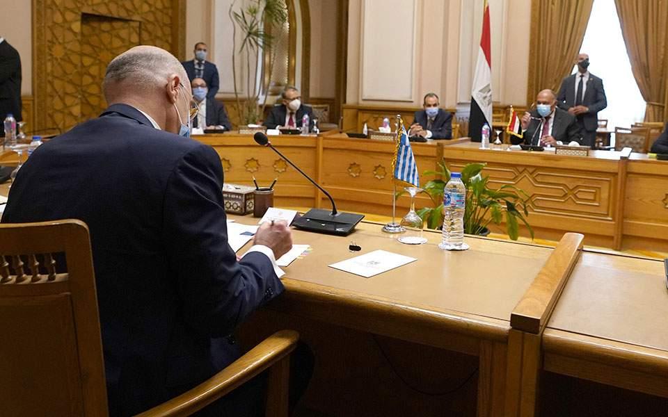 Ν. Δένδιας: Ξαναπιάσαμε το νήμα της διαπραγμάτευσης για ΑΟΖ με Αίγυπτο