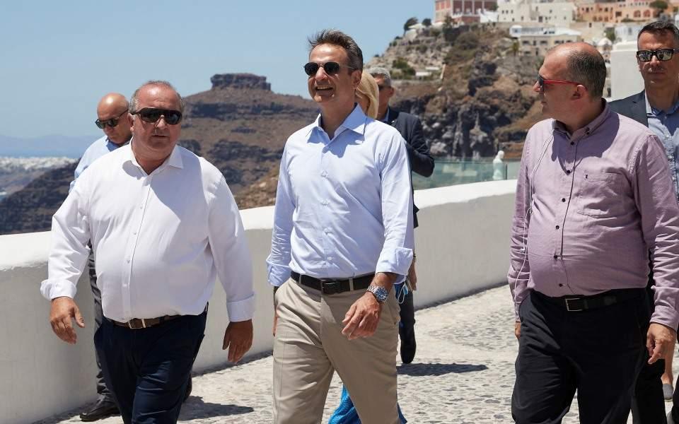 Κυρ. Μητσοτάκης: Έχουμε υποχρέωση να προστατεύσουμε το τουριστικό μας προϊόν
