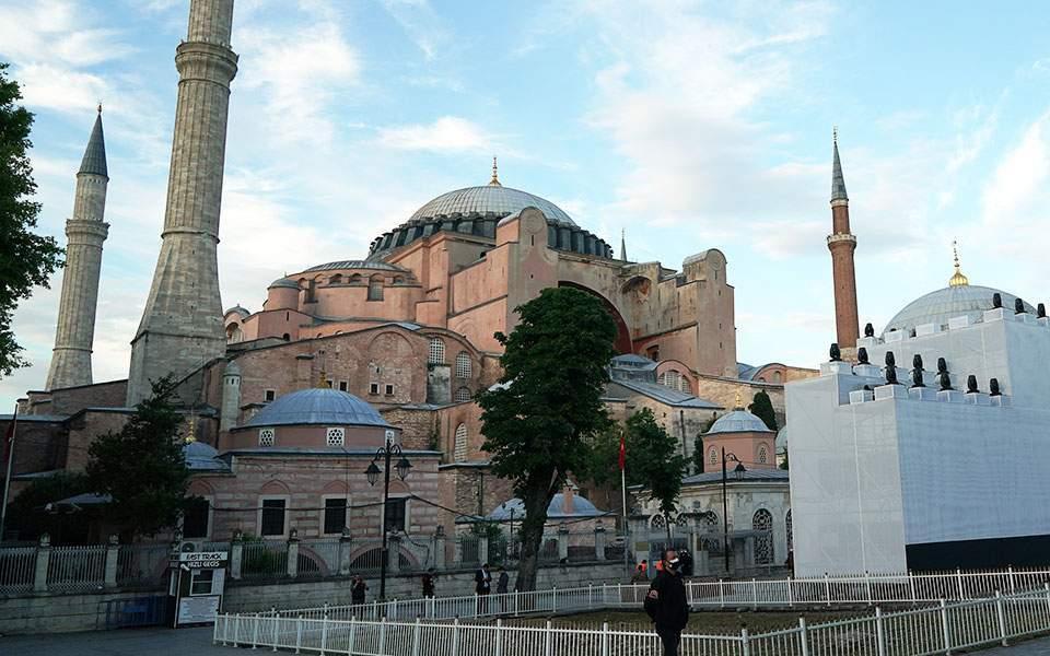 Ενάντια στη συνθήκη της UNESCO η απόφαση Ερντογάν για την Αγία Σοφία