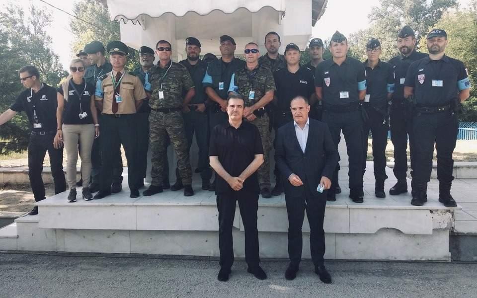 «Αυτοψία» Χρυσοχοΐδη με τον εκτελεστικό διευθυντή της FRONTEX στον Εβρο