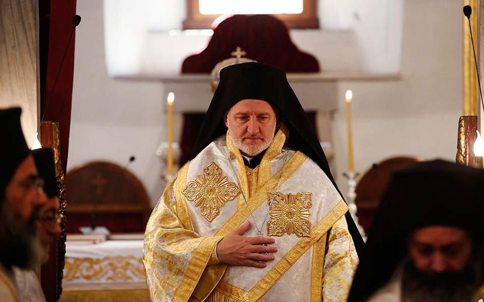 Αρχιεπίσκοπος Ελπιδοφόρος: Η κοσμοθεωρία του κατακτητή οδήγησε στη μετατροπή της Αγίας Σοφίας
