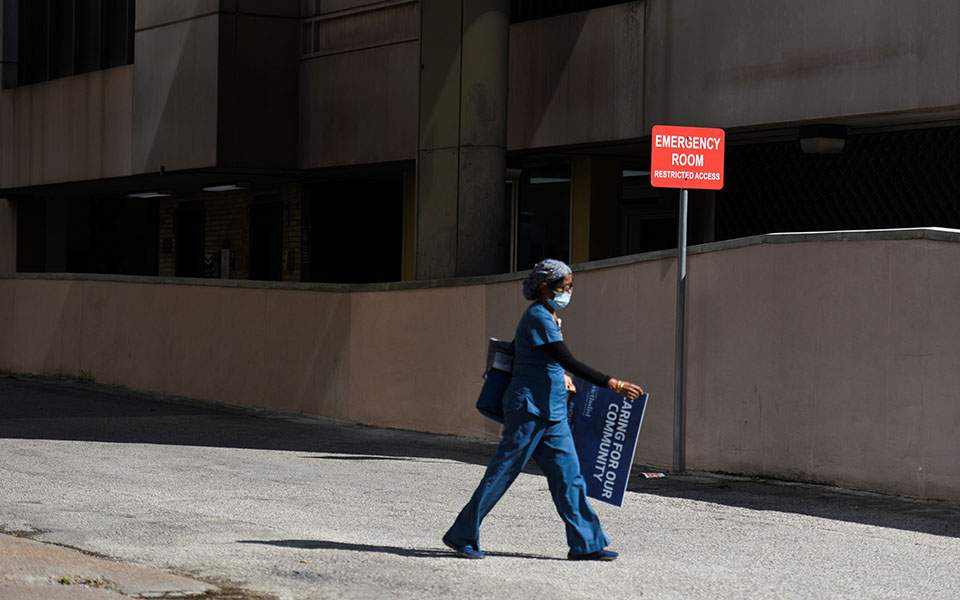 ΗΠΑ: 760 θάνατοι εξαιτίας της COVID-19, νέο θλιβερό ρεκόρ κρουσμάτων σε 24 ώρες