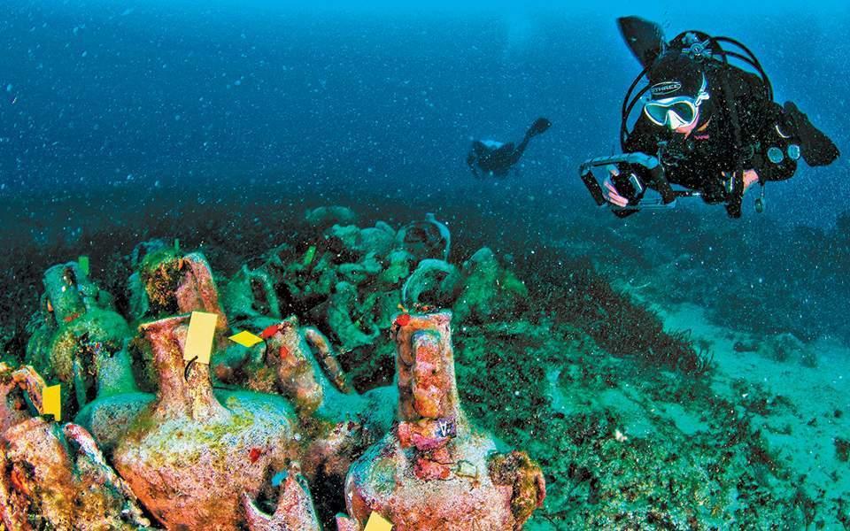 Aνοίγει το πρώτο υποβρύχιο μουσείο της Ελλάδας στην Αλόννησο με το ...
