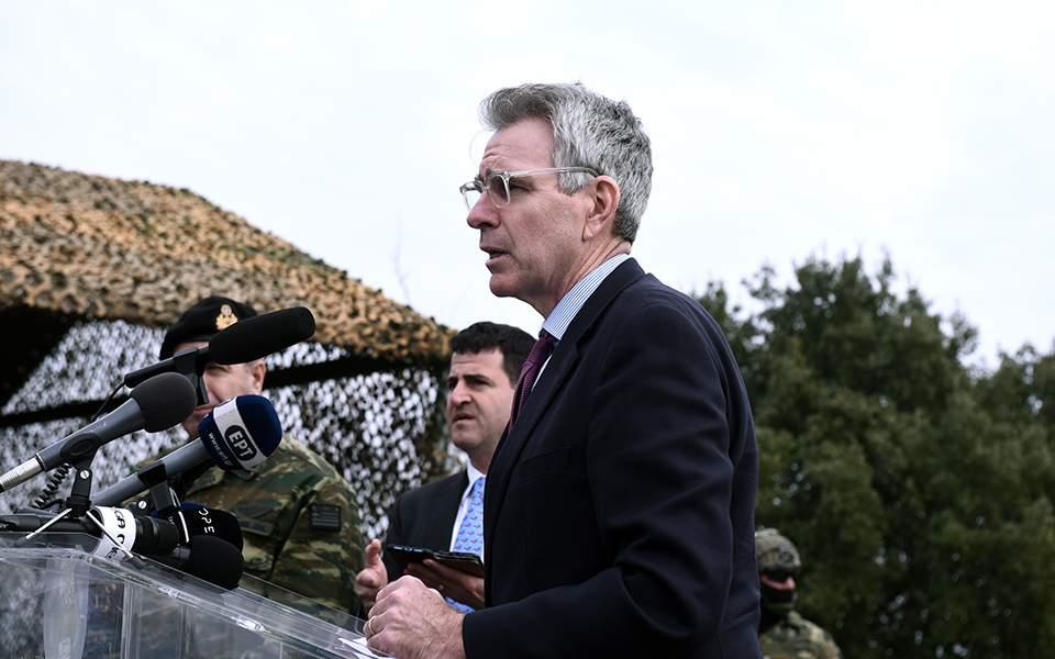 Πάιατ: Χωρίς προηγούμενο η πρόοδος στις σχέσεις Ελλάδας - ΗΠΑ