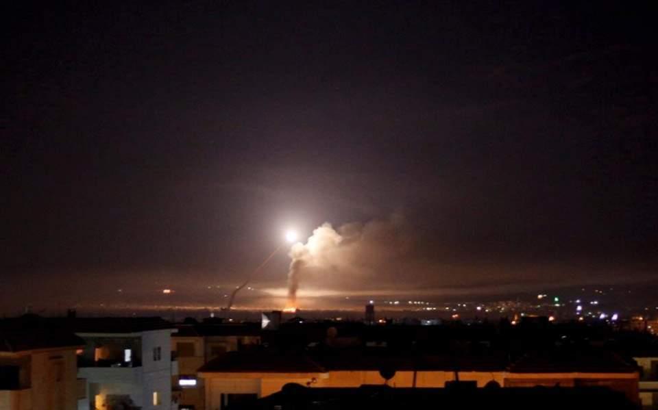 Ισραήλ: Μαχητικά αεροσκάφη επιτέθηκαν σε στρατιωτικούς στόχους στη Συρία
