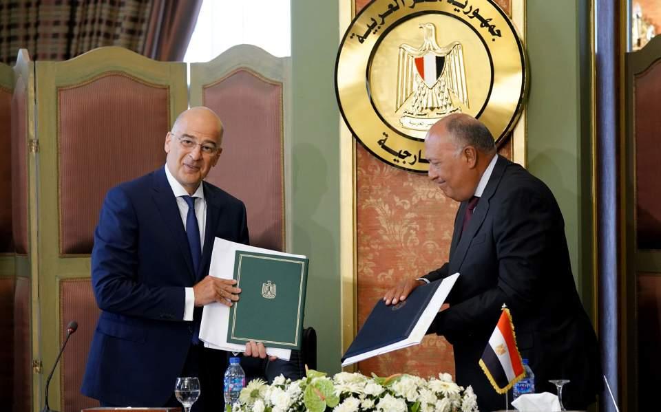 Ν. Δένδιας: Στον «κάλαθο των αχρήστων» το τουρκολιβυκό μνημόνιο μετά τη συμφωνία με την Αίγυπτο