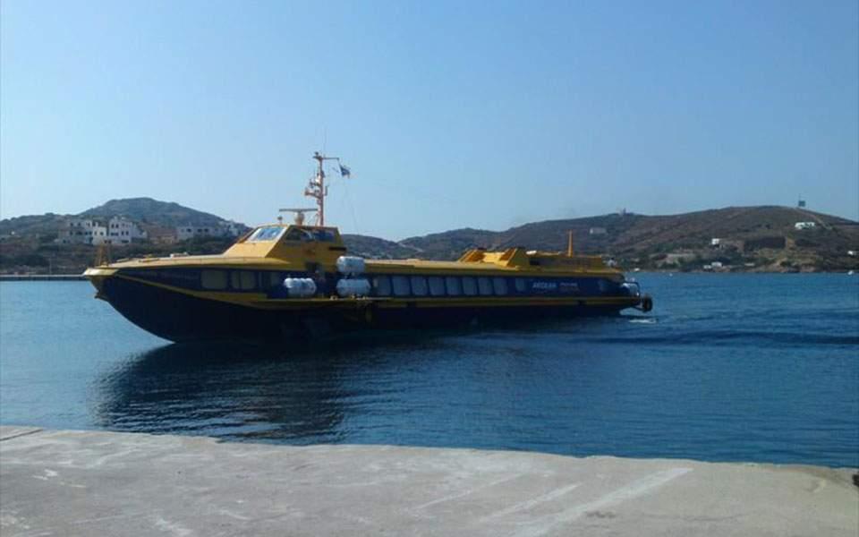 Βόλος: Εισροή υδάτων σε υδροπτέρυγο και σύλληψη του πλοιάρχου