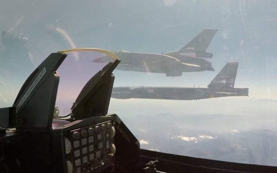 ΓΕΕΘΑ: Απάντηση στο τουρκικό υπ. Αμυνας για την αποστολή συνοδείας αεροσκάφους Β-52