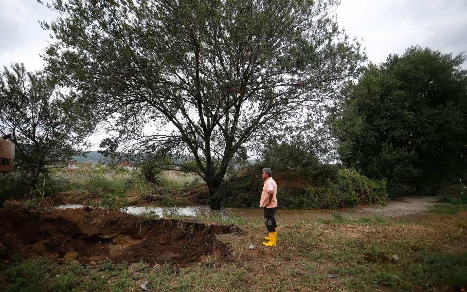 Λαγκαδάς Θεσσαλονίκης: Μεγάλες ζημιές σε γεωργία και κτηνοτροφία από την κακοκαιρία