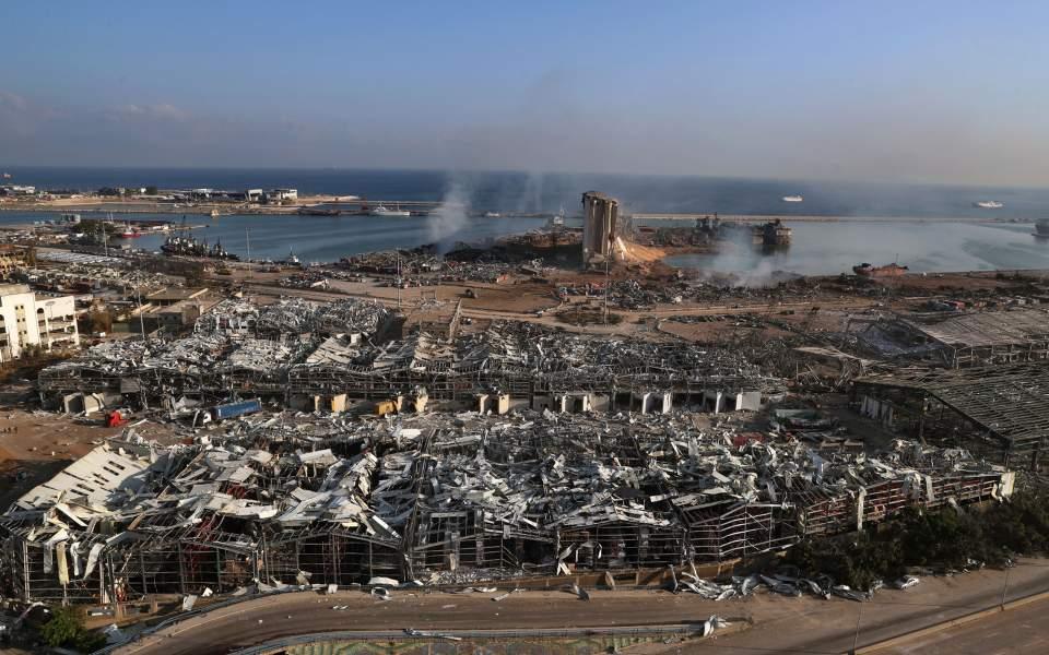 Βηρυτός: Στους 158 οι νεκροί - 21 οι αγνοούμενοι