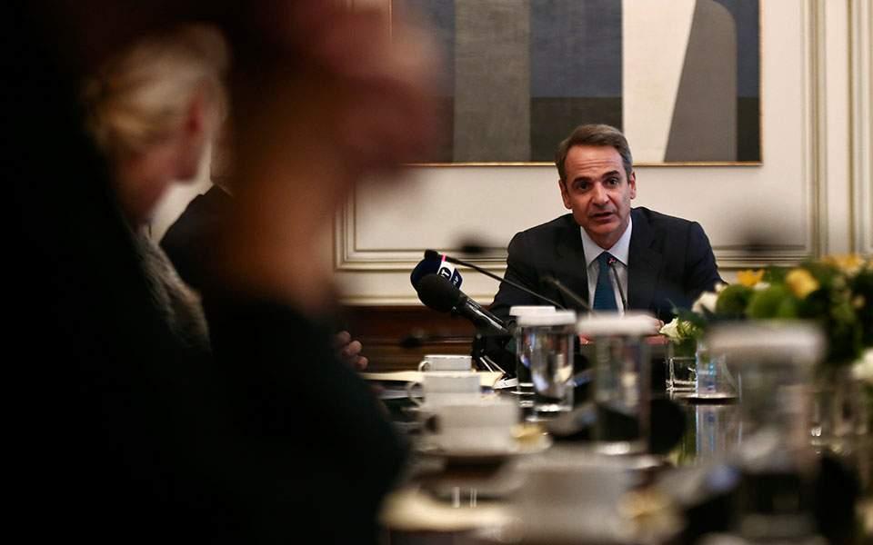 Ενημερώνει τους πολιτικούς αρχηγούς ο πρωθυπουργός για τις εξελίξεις στην Ανατ. Μεσόγειο