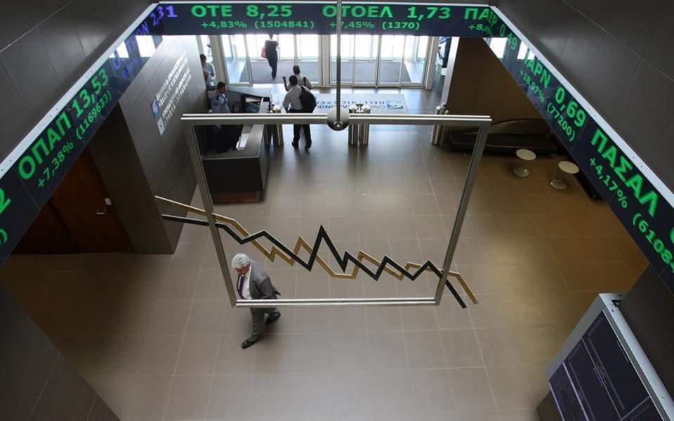 Ανοδος 2,18%  στο Χρηματιστήριο μετά το ράλι των τραπεζικών μετοχών