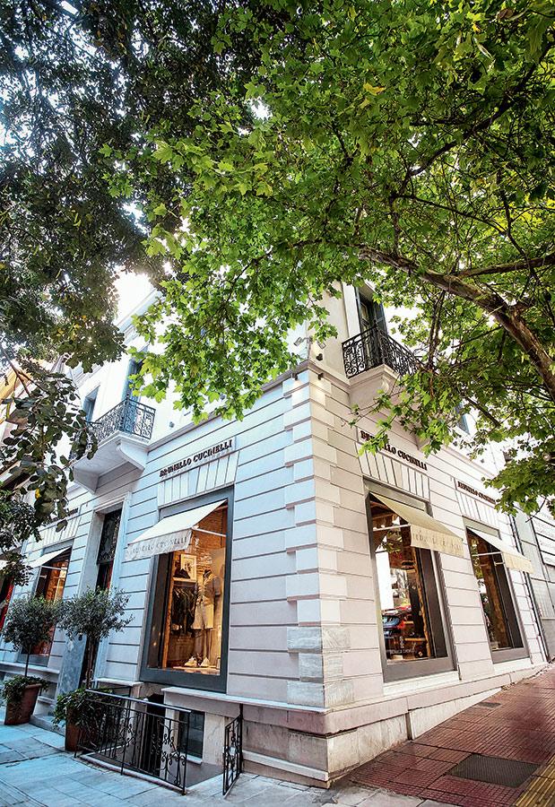 Το κατάστημα Brunello Cucinelli στο κέντρο της Αθήνας. 2a9c1c5f970