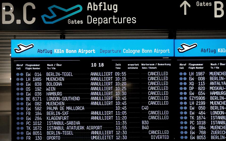 Γερμανία: Περισσότερες από 600 πτήσεις ακυρώθηκαν λόγω απεργίας σε τρία αεροδρόμια, φωτογραφία-2