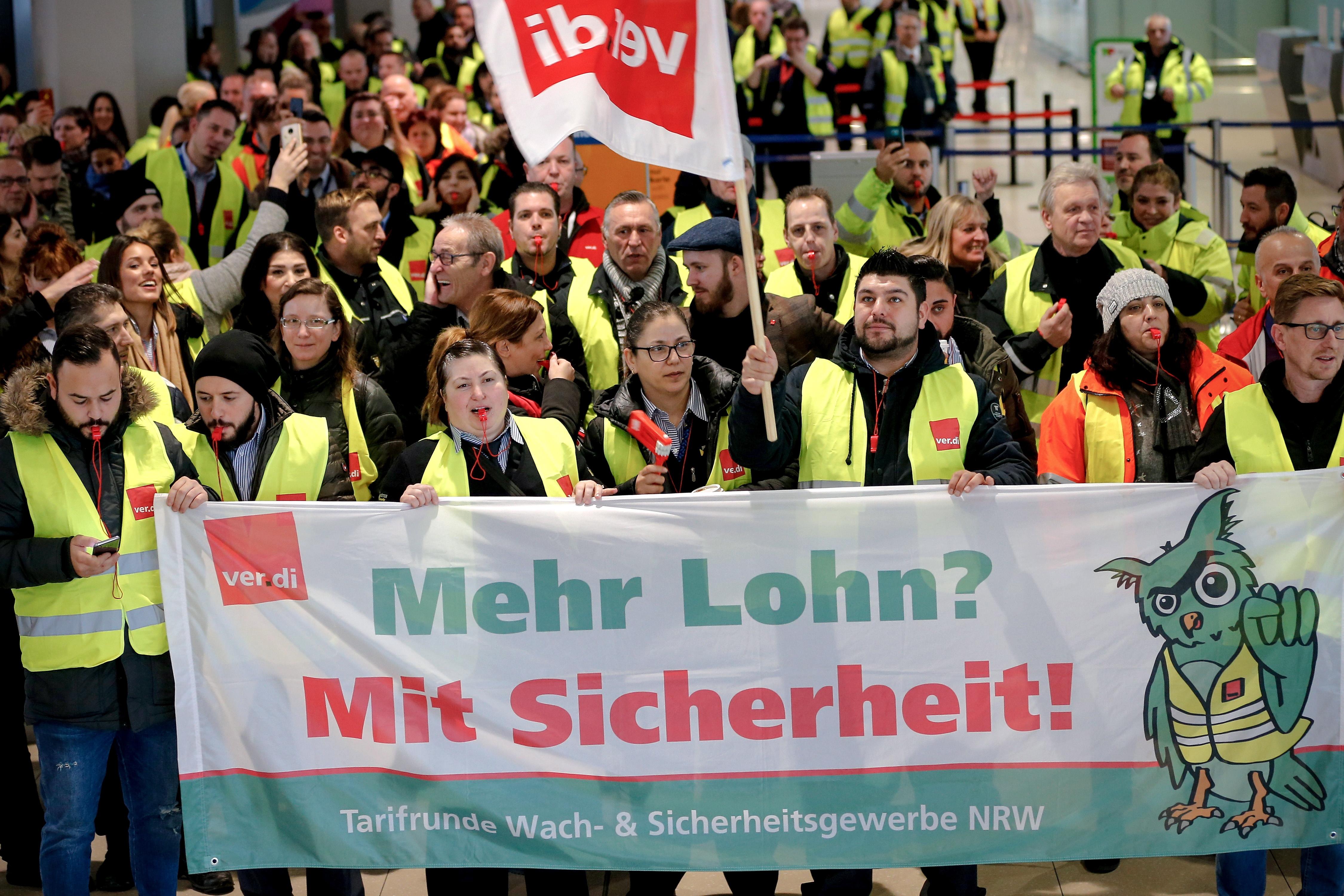 Γερμανία: Περισσότερες από 600 πτήσεις ακυρώθηκαν λόγω απεργίας σε τρία αεροδρόμια, φωτογραφία-3