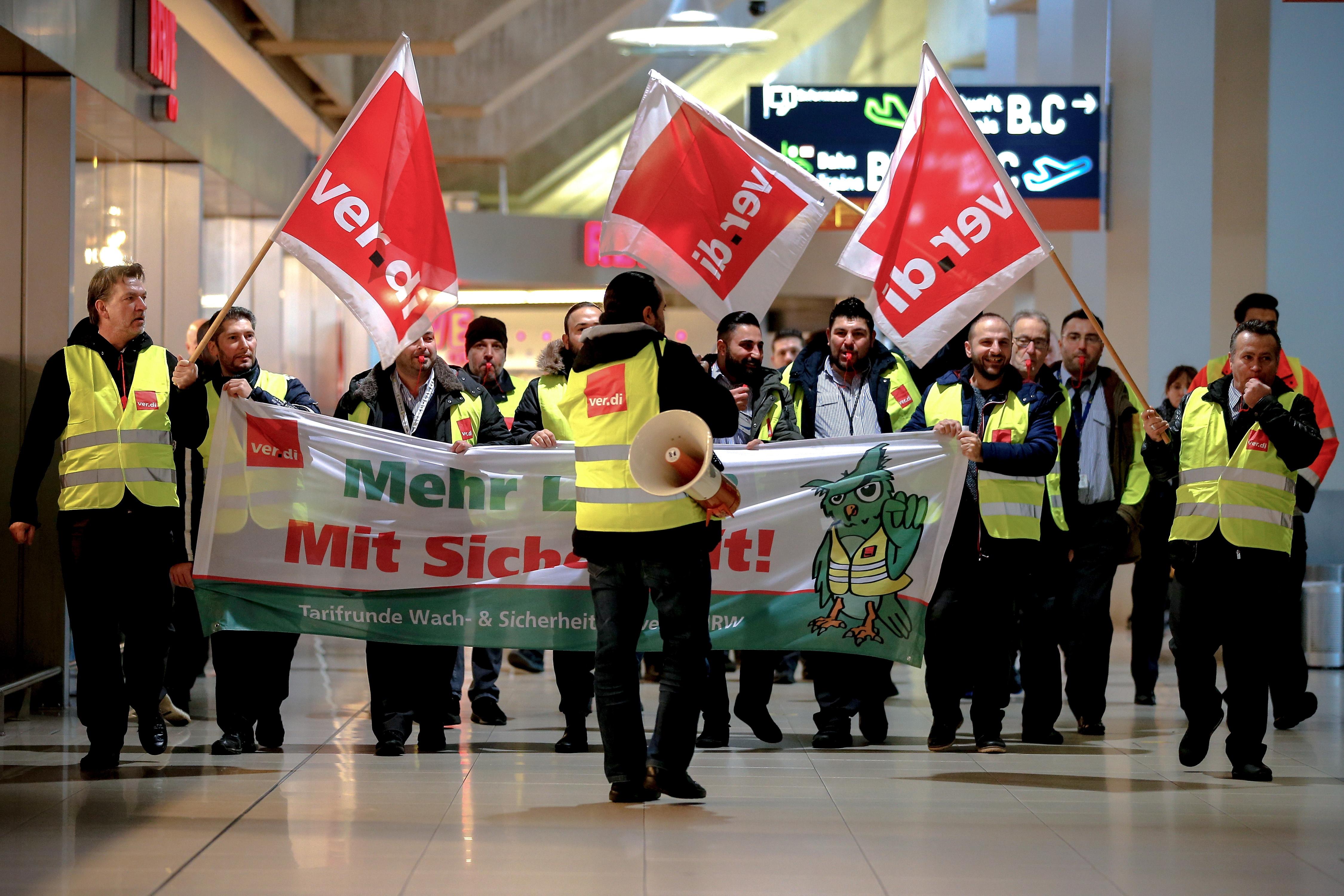 Γερμανία: Περισσότερες από 600 πτήσεις ακυρώθηκαν λόγω απεργίας σε τρία αεροδρόμια, φωτογραφία-1
