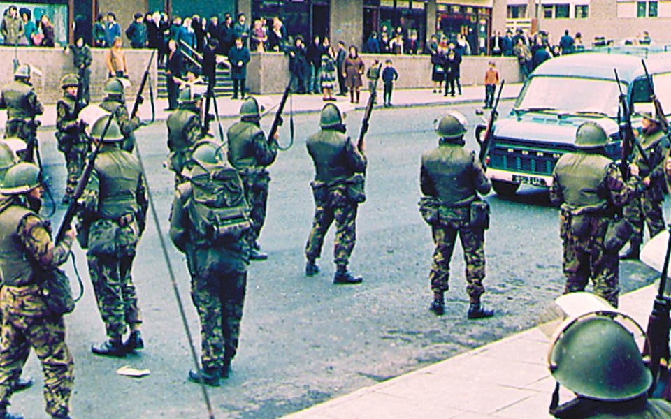 Στρατιώτες που χρονολογούνται από την περιοχή UK