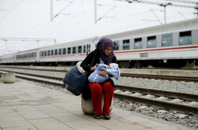 «Μητέρες της προσφυγιάς» μέσα από 15 φωτογραφίες του Reuters 11