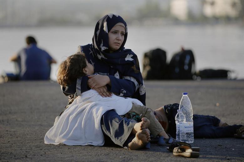 «Μητέρες της προσφυγιάς» μέσα από 15 φωτογραφίες του Reuters 2