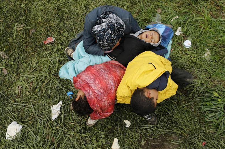 «Μητέρες της προσφυγιάς» μέσα από 15 φωτογραφίες του Reuters 7