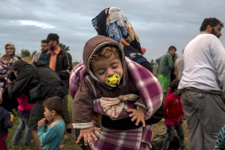«Μητέρες της προσφυγιάς» μέσα από 15 φωτογραφίες του Reuters 9