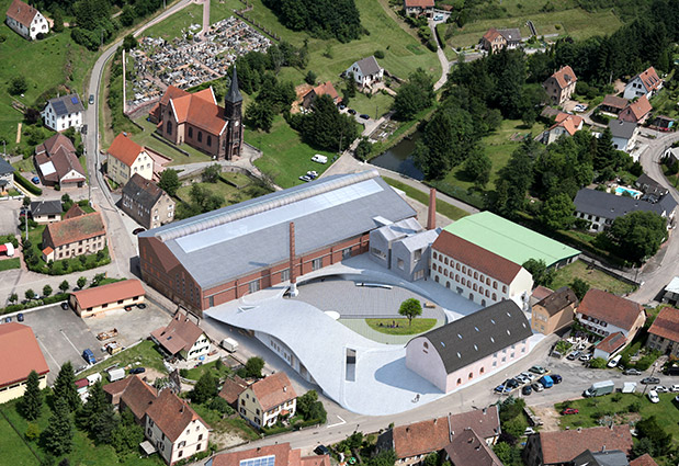 498353938b Το ερειπωμένο εργοστάσιο γυαλιού στο Meisenthal θα γίνει ένα σύγχρονο  κέντρο πολιτισμού.