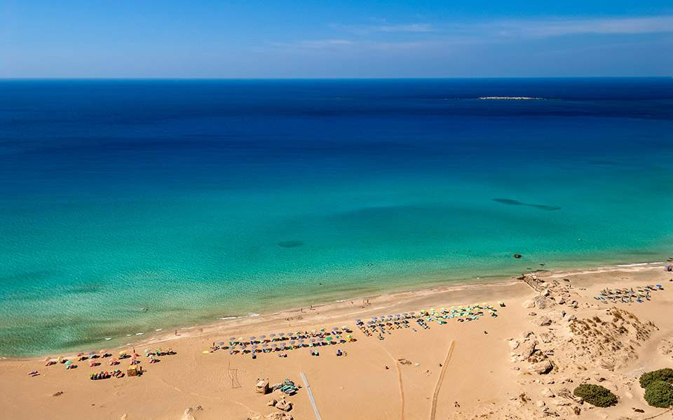 falaserna-10-thumb-large «Ακτινογραφία» για τον τουρισμό - 9 στους 10 θα επισκεφθούν ξανά την Κρήτη