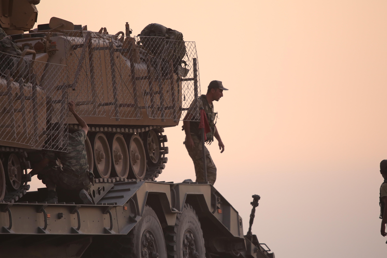 Συρία: Περισσότερους από 181 στόχους έπληξαν οι τουρκικές ένοπλες δυνάμεις